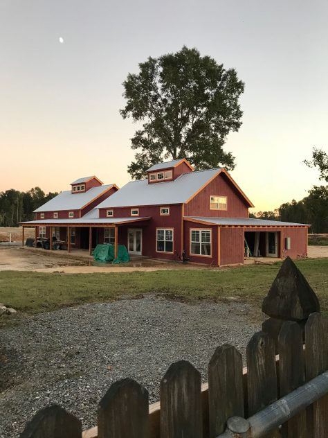 Barn Progress 10/18