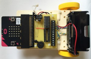 CB microbit top view
