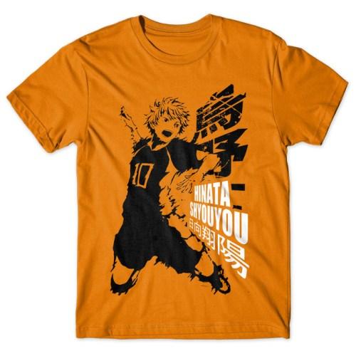 Hinata Shoyo - Haikyuu!! tshirt kaos baju distro anime kartun jepang