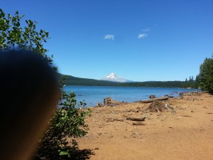 Mt Hood and Timothy Lake