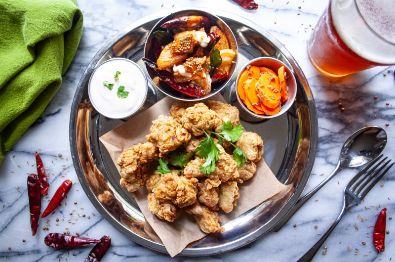 Indian Spiced Fried Chicken