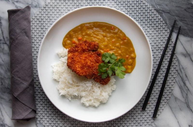 Chicken Thigh Katsu Curry