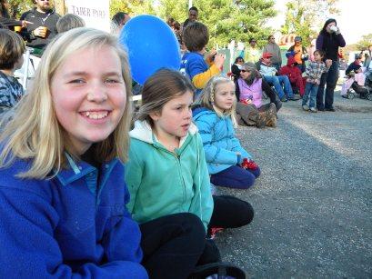 Girls at parade