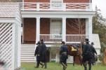 Grant entering McLean House
