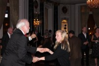 Edie and Uncle Kevin cutting a rug