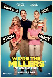 The Millers poster - We're the Millers