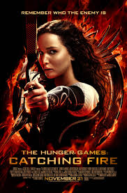Catching Fire poster - The Hunger Games: Catching Fire
