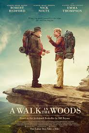 A Walk in the Woods movie poster - A Walk in the Woods