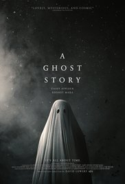 A Ghost Story poster - Quickie Reviews: Wish Upon; A Ghost Story; City of Ghosts; The B-Side: Elsa Dorfman's Portrait Photography