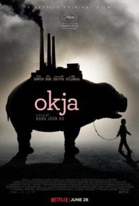 okja poster 203x300 - Review: Okja