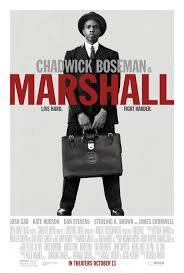 Marshall movie poster - Quickie Reviews: Only the Brave; Marshall