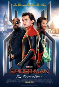 Spider Man FFH poster 203x300 - Review: Spider-Man: Far From Home