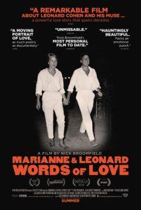 MV5BYTU2N2I4OWUtNmIxNy00YmM5LWJkYzItOWE4NTc5ODczNzUwXkEyXkFqcGdeQXVyODAzODU1NDQ@. V1 SY1000 CR006741000 AL 202x300 - Review: Marianne & Leonard: Words of Love