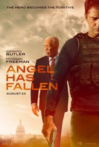 Angel has fallen poster 203x300 - Quickie Review: Angel Has Fallen