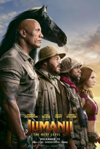 Jumanji Next Level poster 202x300 - Review: Jumanji: The Next Level