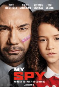 My Spy poster 203x300 - Quickie Review: My Spy