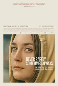 NeverRarelySometimes poster 203x300 - Review: Never Rarely Sometimes Always