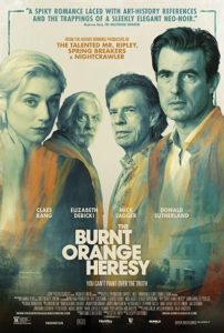 Burnt Orange poster 202x300 - Review: The Burnt Orange Heresy