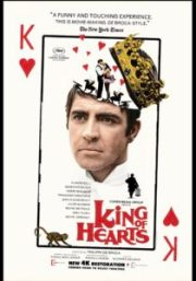 King of Hearts 210x300 - Arty Chick's Seven Flicks: Week 3