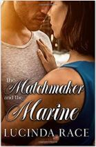 "Alt=""the matchmaker and the marine by lucinda race"""
