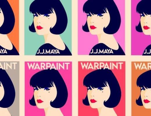 Warpaint: A Rollercoaster Romantic Comedy by J. J. Maya