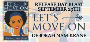 Lets Move On Release Day Banner