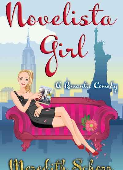 "COVER REVEAL: ""Novelista Girl"" by Meredith Schorr"