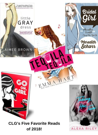 Chick Lit Goddess's Five Favorite Reads of 2018!