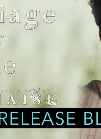 "RELEASE BLITZ: ""Marriage for One"""