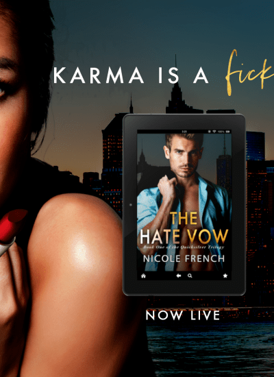 """COVER REVEAL: """"The Kiss Plot"""""""