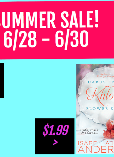 SUMMER BOOK SALE!