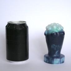Nubbed Plug: Usable length: 9 cm. max. usable circumference: 18.5 cm.