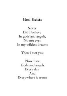 God Exists Poem