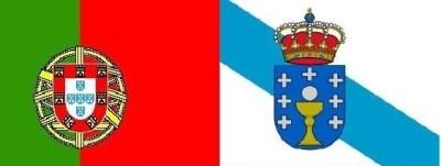 Bandera Portugal y Galicia