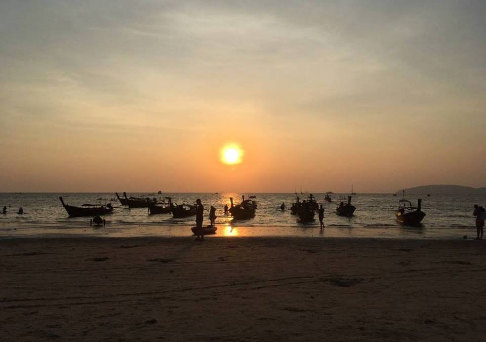 Railay Beach la joya de krabi, Tailandia