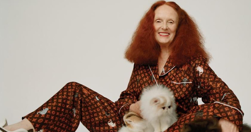 La colección más gatuna de Grace Coddington para Louis Vuitton