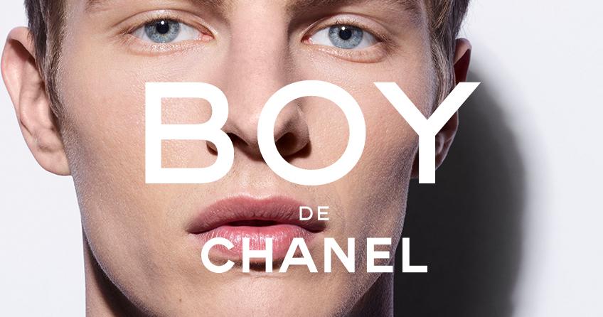 BOY, la línea de maquillaje para hombre de Chanel
