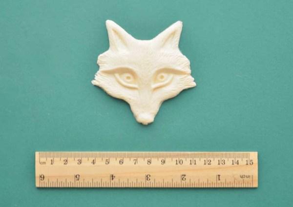 Fox Face Resin Moulding