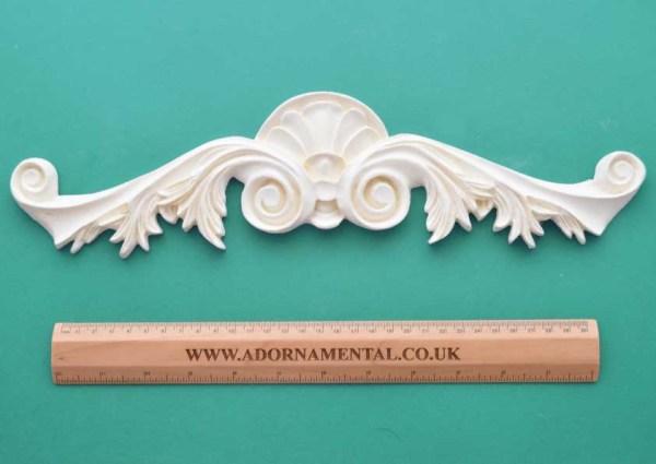 Large Deco Pediment Moulding