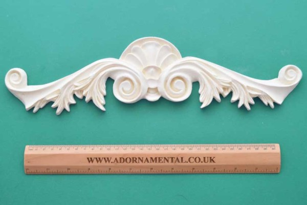 Large Deco Pediment Moulding