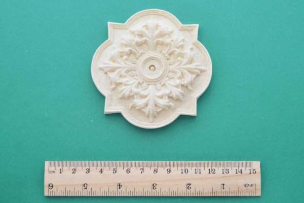 Ornate Plaque Resin Moulding