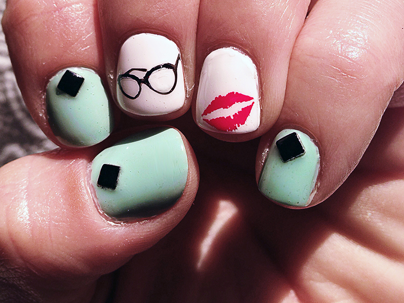 Polish Lacquer Chic Nail Styles Basic Mani With Felicity Smoak Art Prinsesfo Images