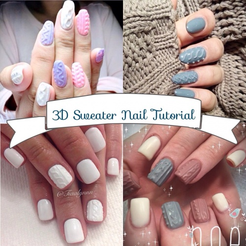 Nail Art Tutorial How To Do 3d Ice Cream With Anic Sculpture Gel Singapore