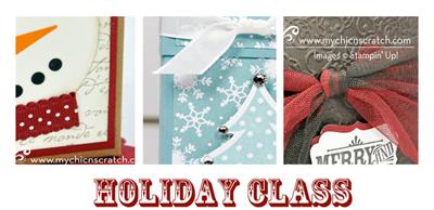 Holiday Class – Supply List