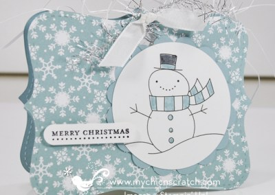 """Stampin"""" Up! 12 Days of Christmas #11 2012"""