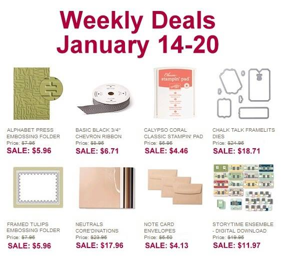 Weekly Deals Jan 14th