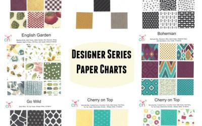 Designer Series Paper Charts