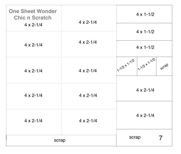 One Sheet Wonder Class 7