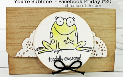 Facebook Friday 20 Featuring You're Sublime