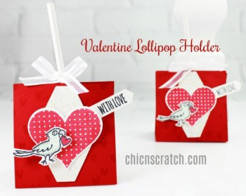 Valentines Lollipop Holder